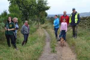 Bridleway clearance Aug 16