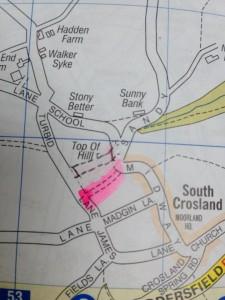 bridleway south crosland